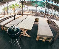 OASIS AREA オアシスエリア|沖縄那覇でバーベキュー コージービーチクラブcozy beach club