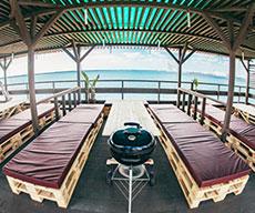 RESORT AREA リゾートエリア|沖縄那覇でバーベキュー コージービーチクラブcozy beach club